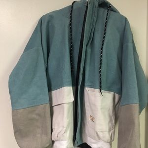 Tops - Duality hooded jacket